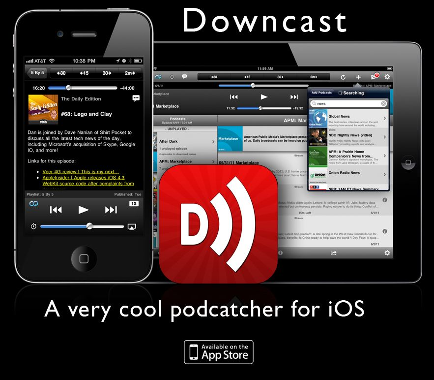 I love my iPhone and I listen to Podcasts of all types