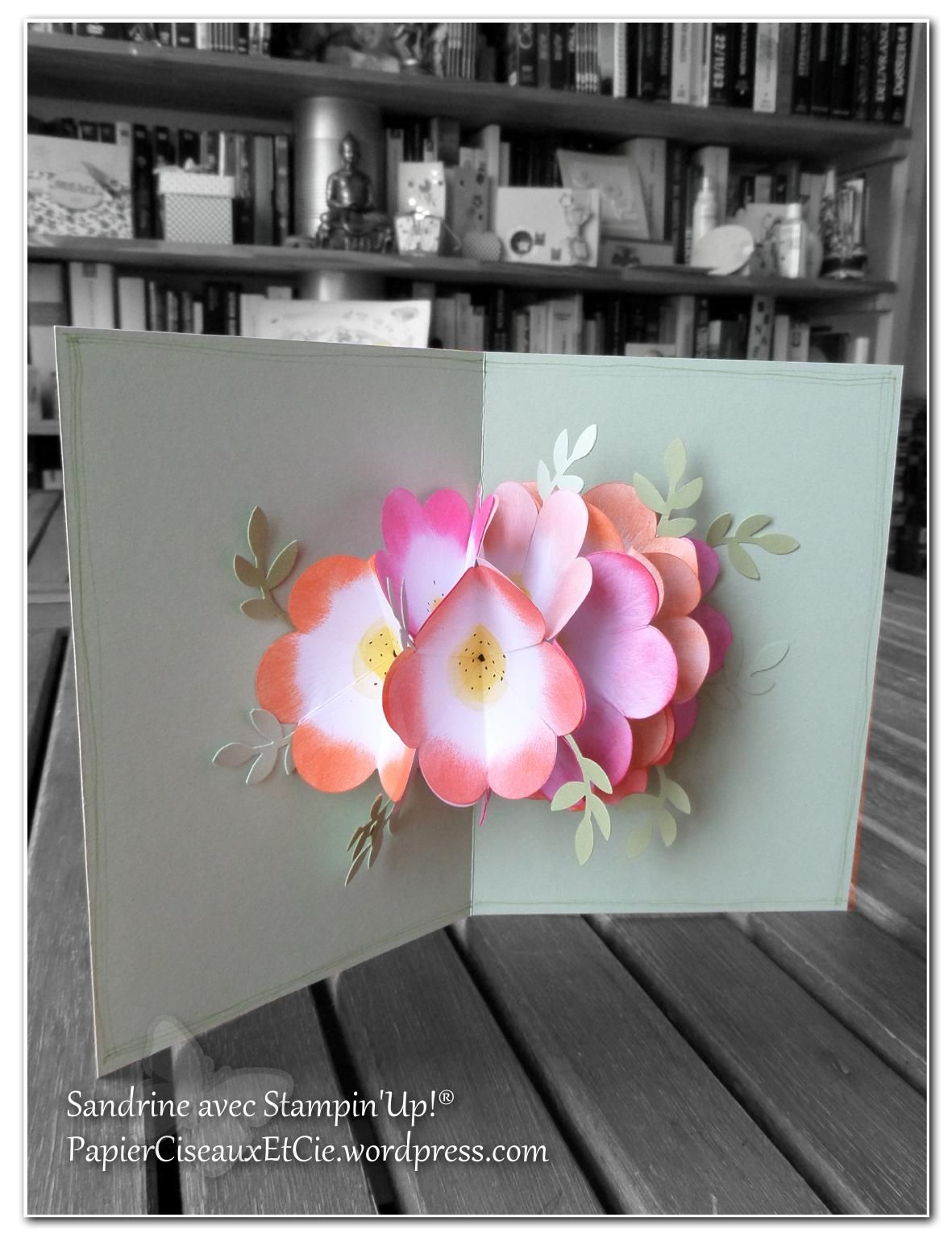 Carte Pop Up Bouquet De Fleurs Tutoriel Cards Purse Fancy