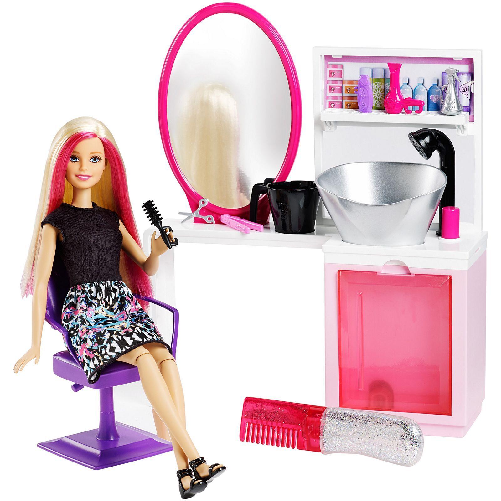 Barbie Sparkle Style Hair Salon Di 2020