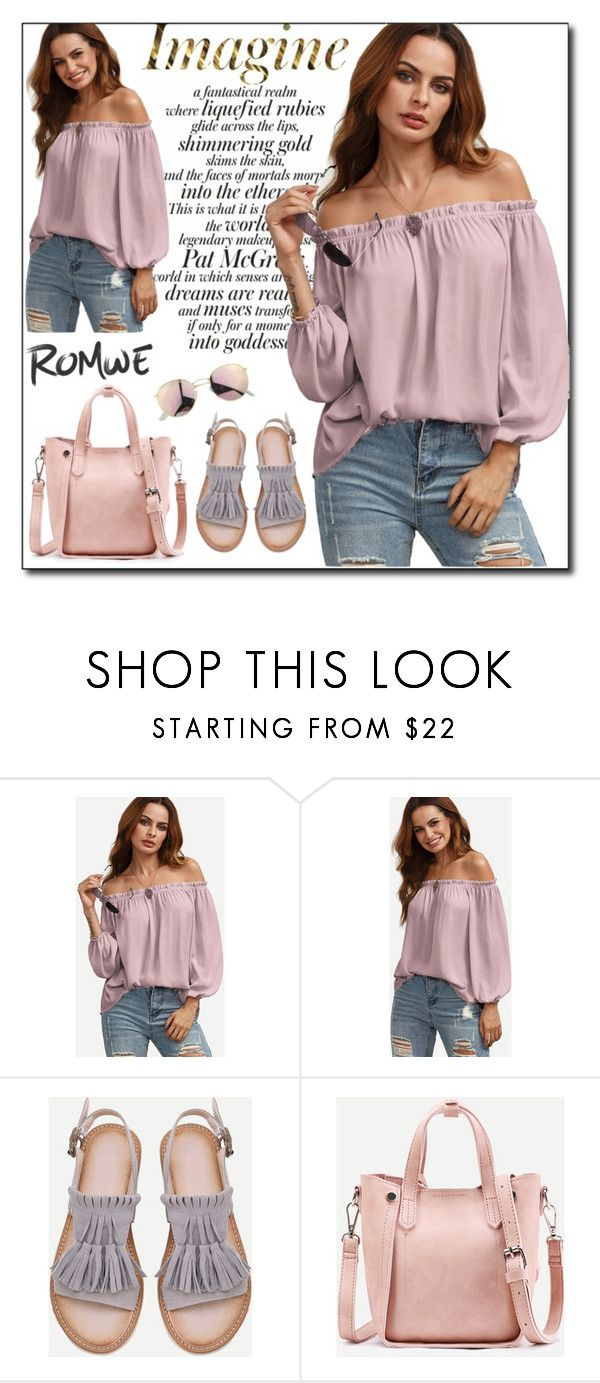 """""""ROMWE 8"""" by woman-1979 ❤ liked on Polyvore"""