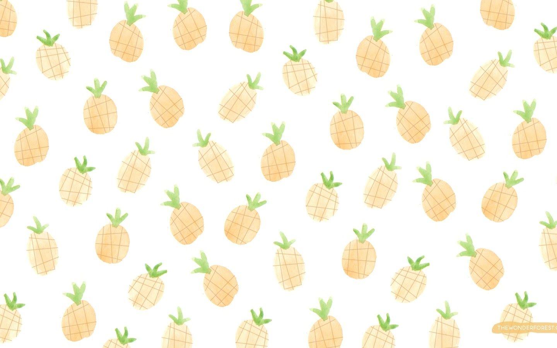 Fruit Salad Cute Laptop Wallpaper Laptop Wallpaper Pineapple Wallpaper