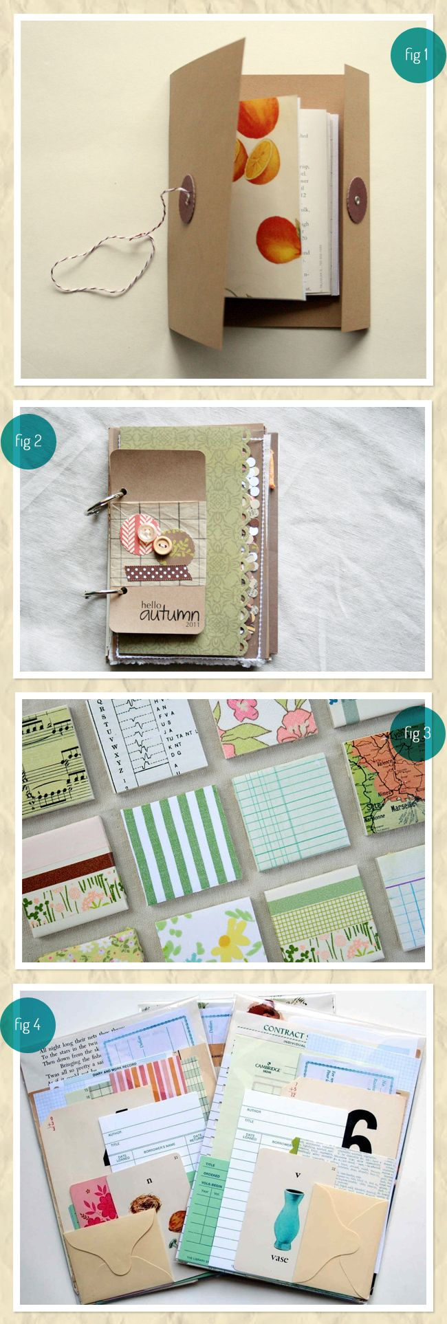 Cute Things To Make Sbook Paper Crafts