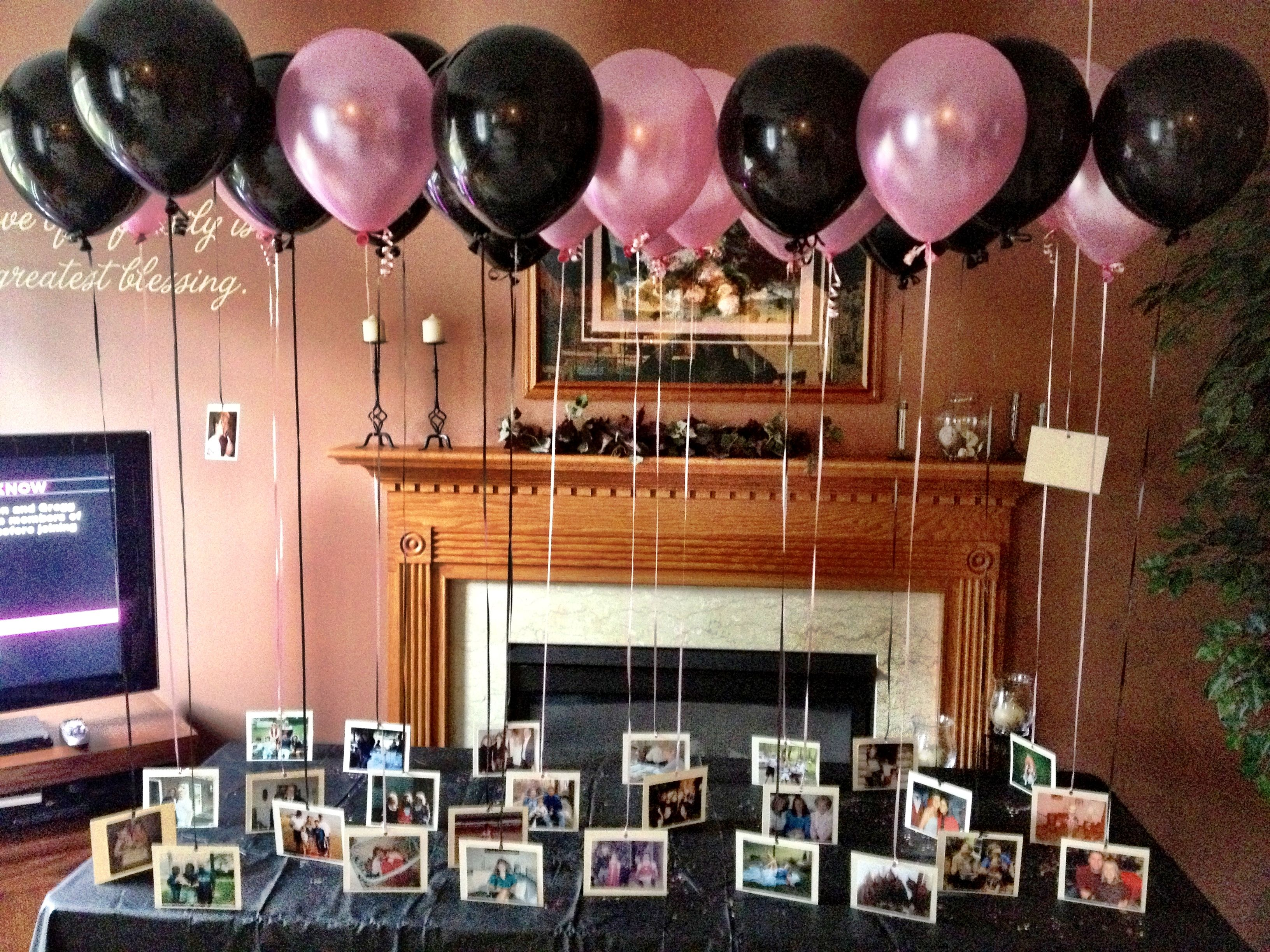 Did this for my sister s 40th birthday Did this for my sister s 40th birthday    Cute Crafts   DIY Ideas  . Diy Centerpieces For 40th Birthday Party. Home Design Ideas