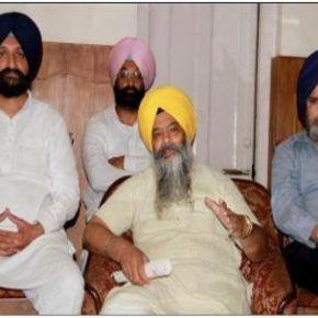 Don't Blame Parkash Singh Badal for SYL Canal Dispute: Prem Singh Chandumajra