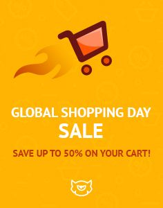 Shopping is the Best Way to Overcome the Autumn Blues! Welcome Our Global Shopping Day #Sale!  Use a Special Code and Save 20%, 30% or Even 50% on Any Product from TemplateMonster.com. You Have 2 Days Only - http://www.templatemonster.com/?utm_source=pinterest_cpc&utm_medium=tm&utm_campaign=shopday16