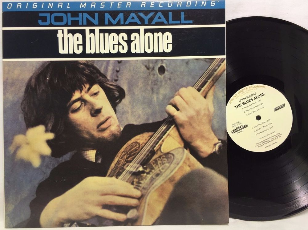 John Mayall The Blues Alone Master Recording MFSL Master Recording Mobile Fideli