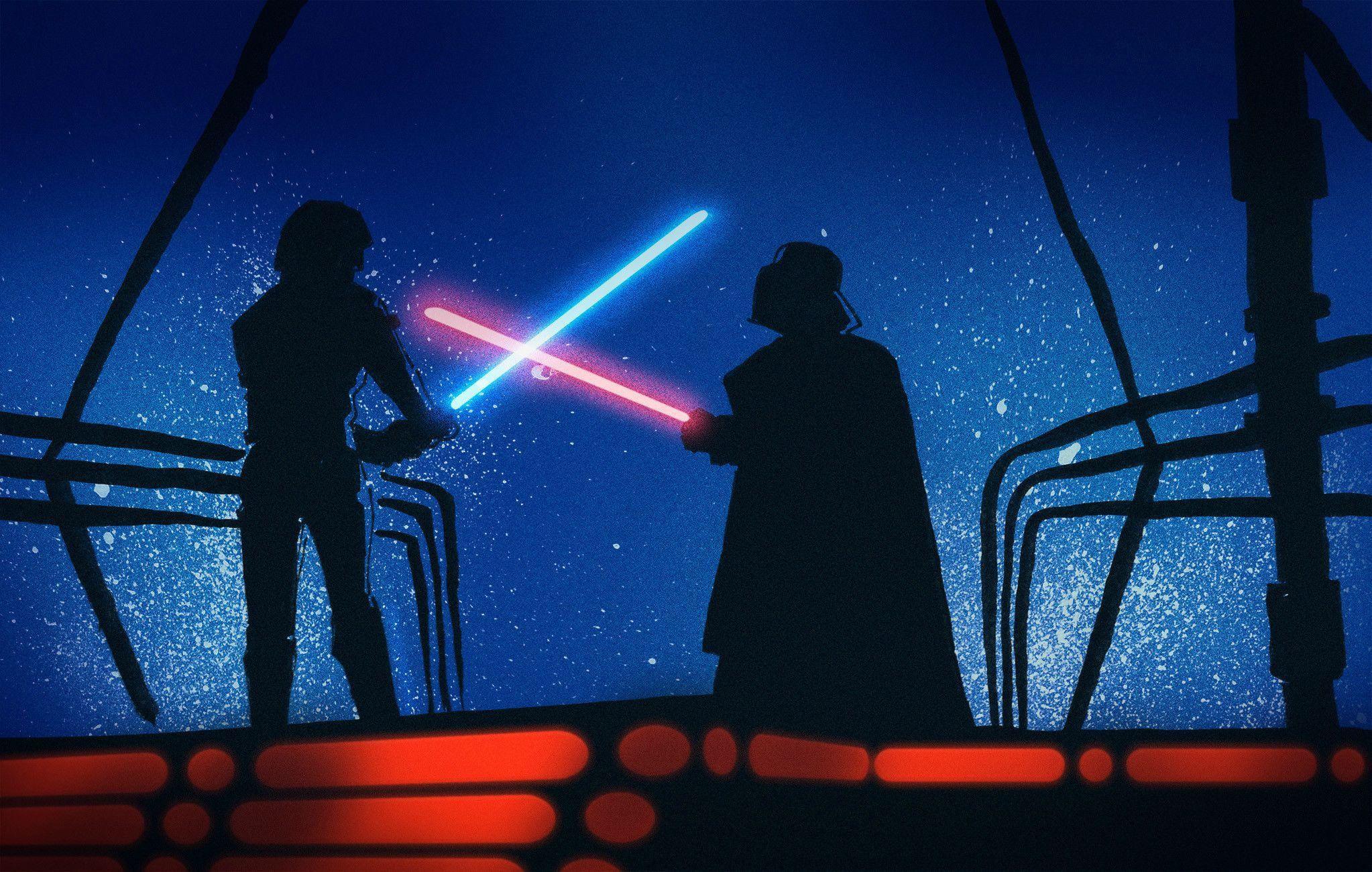 50 Beautiful Wallpapers For Sharing Luke Skywalker Darth Vader Darth Vader Wallpaper Star Wars Wallpaper