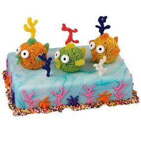 Water Colors Cake