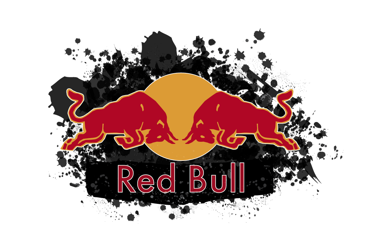 Redbull logo vector free large images
