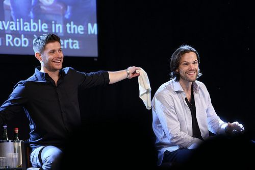 Jensen Ackles and Jared Padalecki ||| Supernatural JIB Con 5 - 2014