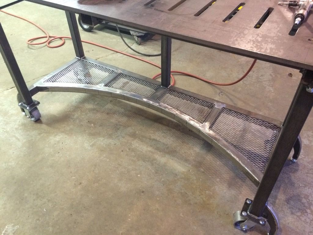 Welding Table Workbench Build