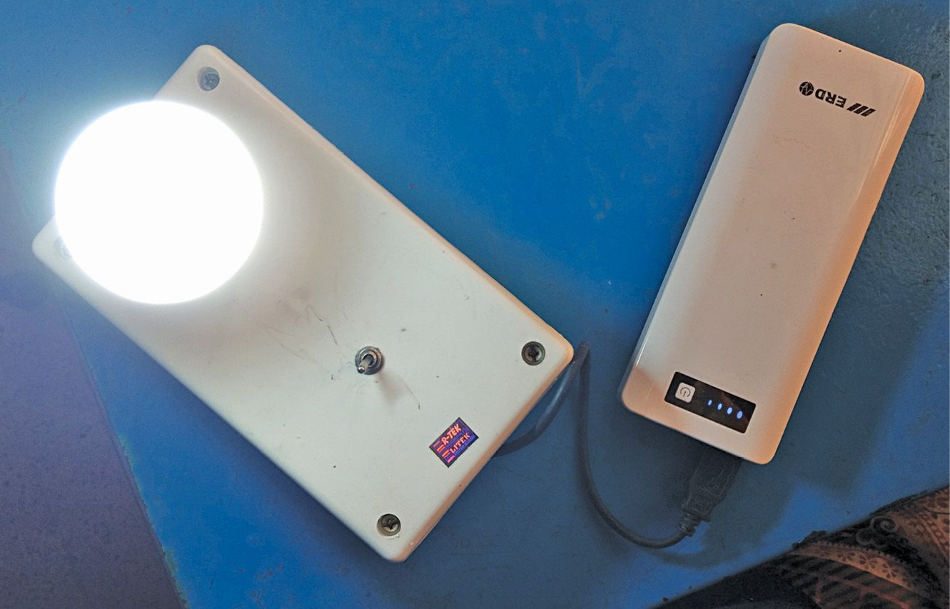 Portable Emergency Light Using Power Bank in 2020 ...