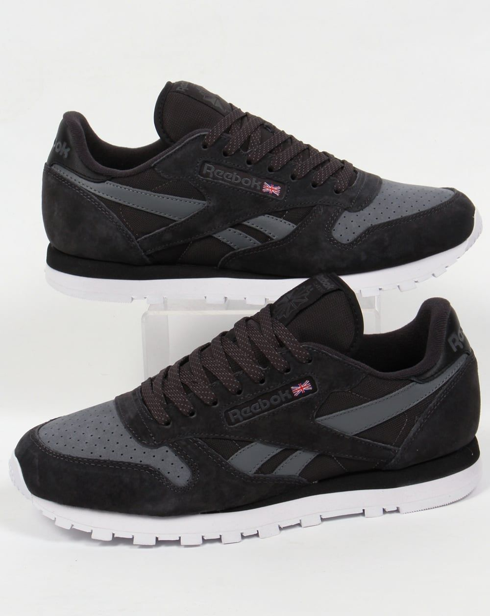 f05fe6038e Reebok Classic Leather NP Trainers | KICKS | Pinterest | Zapatos ...