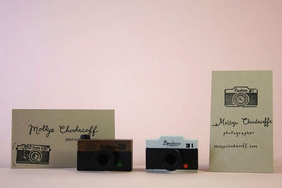 Camera Rubber Stamp. Great little item.