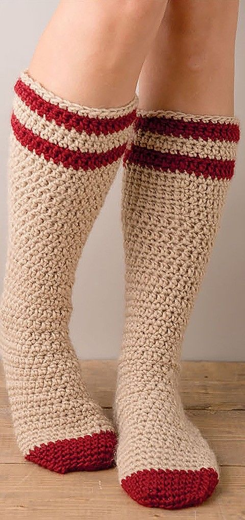 Super Cute and Cozy Easy to Make Fun Crochet Socks 9 Cozy Sock ...