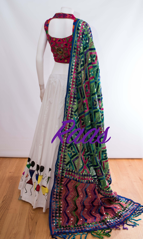 Half saree blouse design cc  navaratri chaniya choli   pinterest  indian outfits