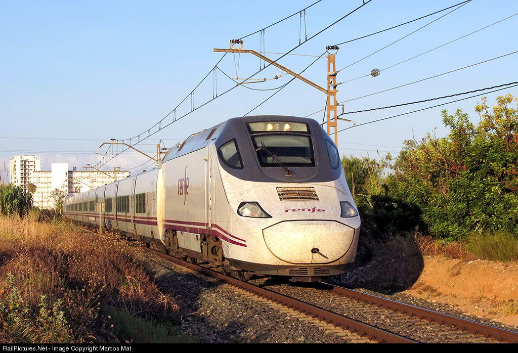 RailPictures.Net Photo: Renfe Bombardier/Talgo Serie 130 at Cambrils (Tarragona), Spain by Marcos Maté