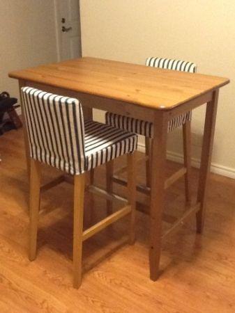 Ikea Leksvik Bar Table Dining Set Craigslist 180 Dining