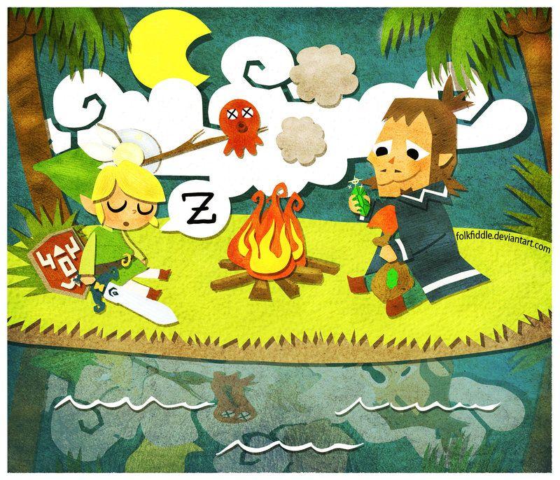 Good Night By Folkfiddle Linebeck Ph Jeux Zelda The Legend Of Zelda