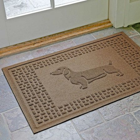 "Dachshund Fashion Floor Mat-24"" x 36"""
