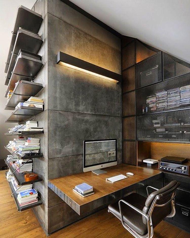 Vai trabalhar no findi?? Que seja num #homeoffice assim!  #cooldecor #cozydecor #decor #decoração #homedecor #inspiracao #inspiration #reference #cozy #cosi_home