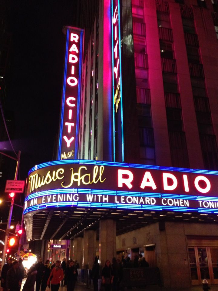 Radio City Music Hall in 2019 | Places Holden Visits | Radio