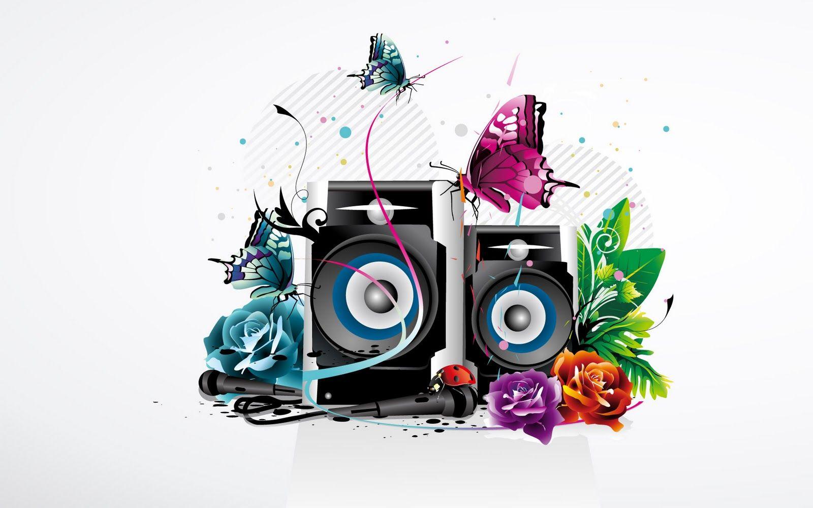 Pin by hari charan on HCB ART | Speaker wallpaper, Music ...