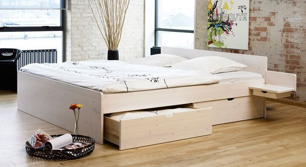 Bett Norwegen Bett Modern Bett Mit Schubladen Und Bett