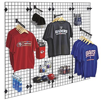 Product Image Clothing Store Interior Wire Grid Panels Grid Panel