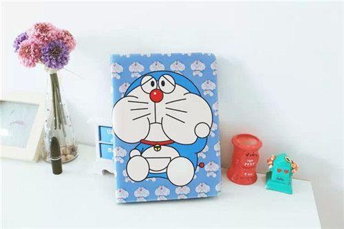 Doraemon Flip Leder Schutz Case ipad 2/3/4, ipad mini 1/2/3, ipad air 1/2 - elespiel.com