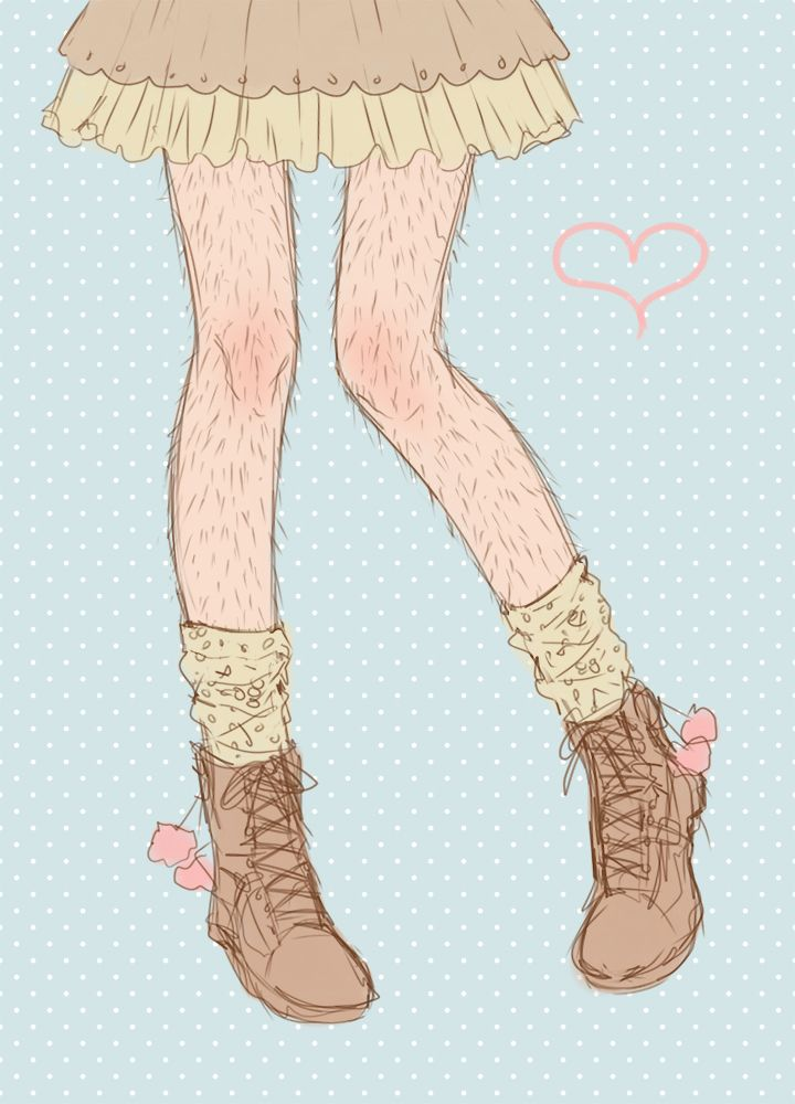 Смешные рисунки на ногах