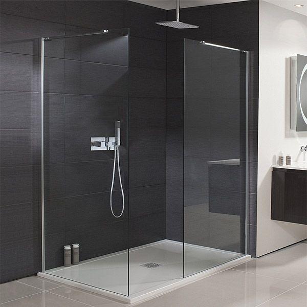 Simpsons Design 500mm Walk-In Shower Panel plus return available ...
