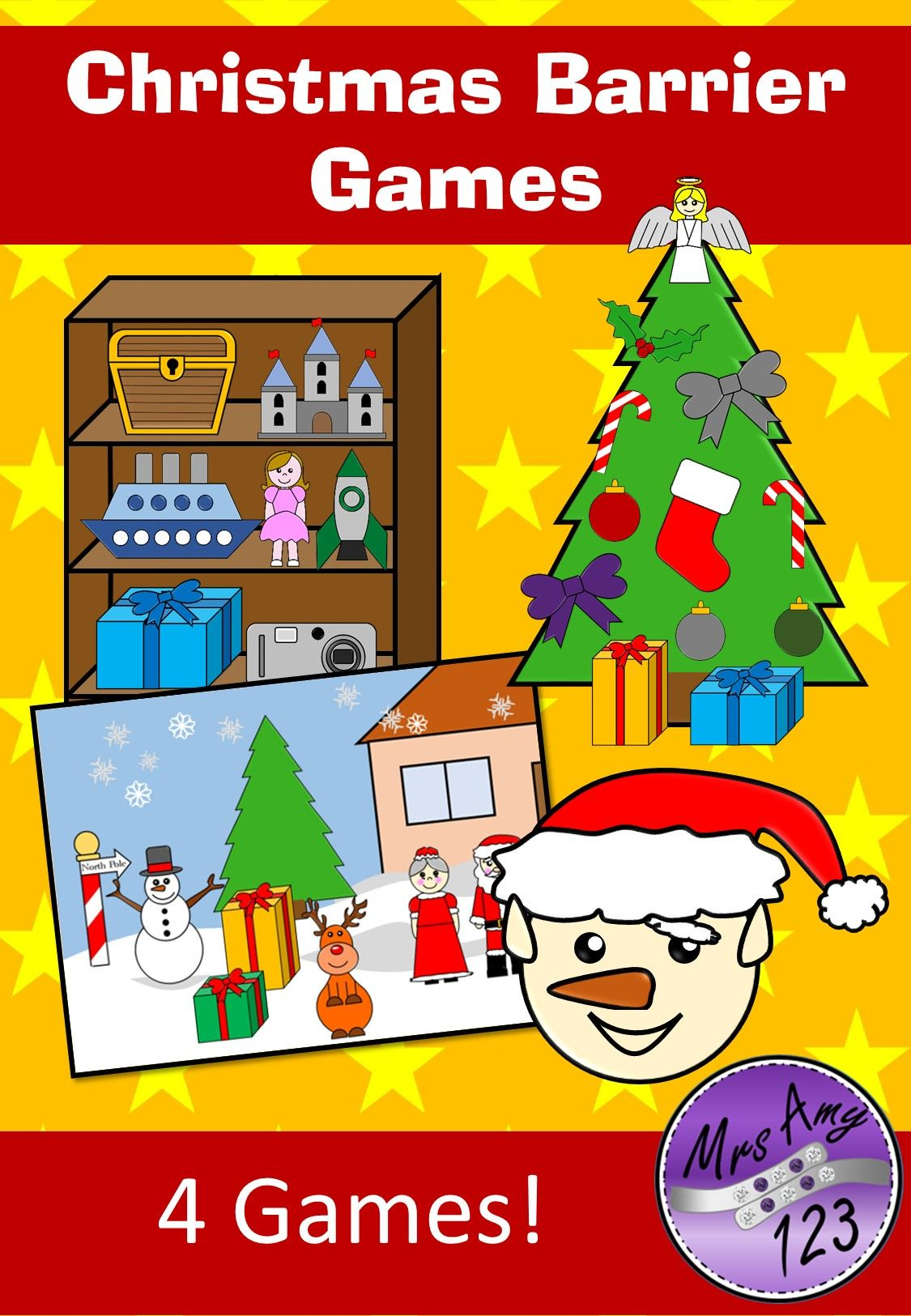 Christmas Barrier Games With Images