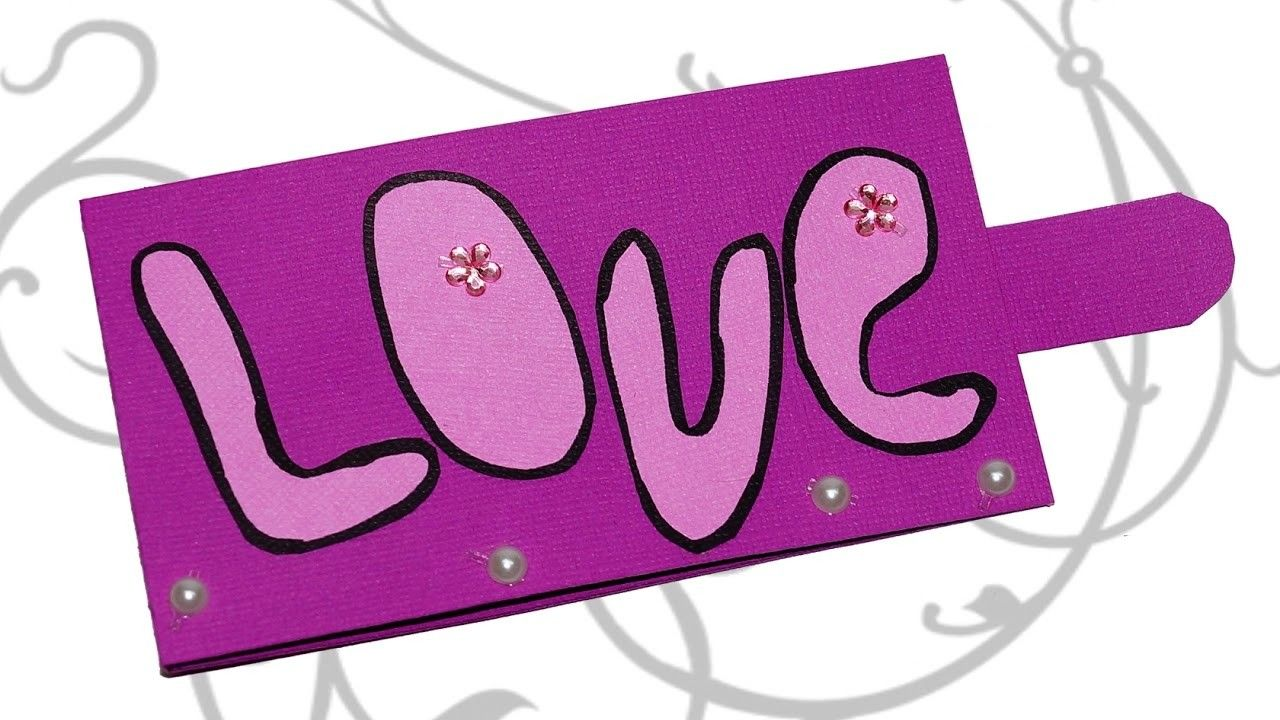 Diy paper crafts love card greeting card for valentine day pop diy paper crafts love card greeting card for valentine day pop up card jeuxipadfo Images