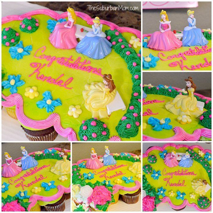 Amazing Disney Princess Cupcake Cake Walmart Dreamparty Shop Disney Funny Birthday Cards Online Inifodamsfinfo