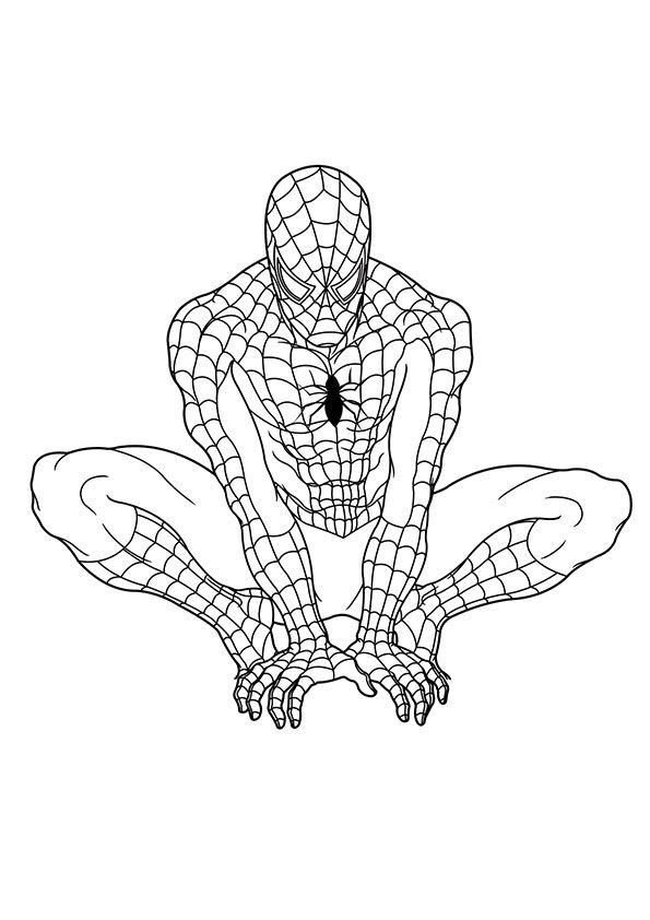 print coloring image Craft - new print out coloring pages superheroes