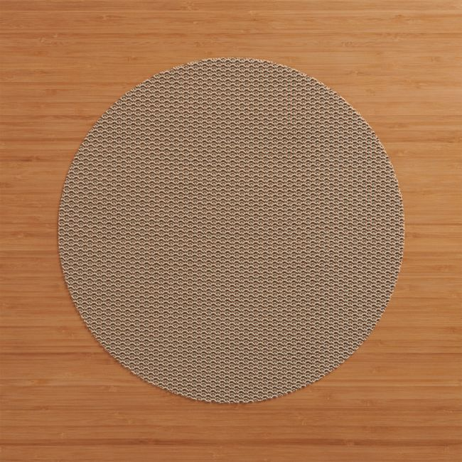 Chilewich Knitty Neutral Vinyl Placemat Reviews Crate And Barrel In 2020 Crate And Barrel Natural Linen Tablecloth Placemats