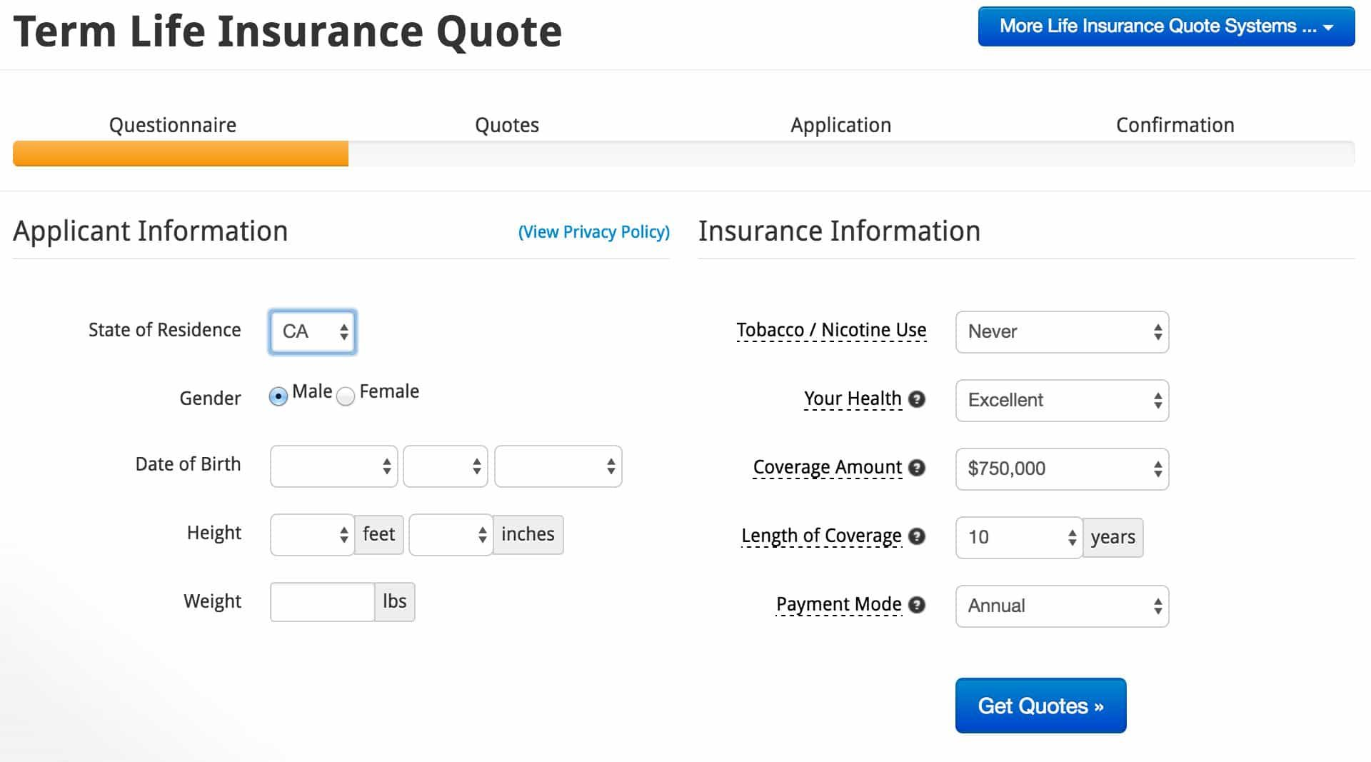 Instant Term Life Insurance Quote Quotes Of The Day Term Life