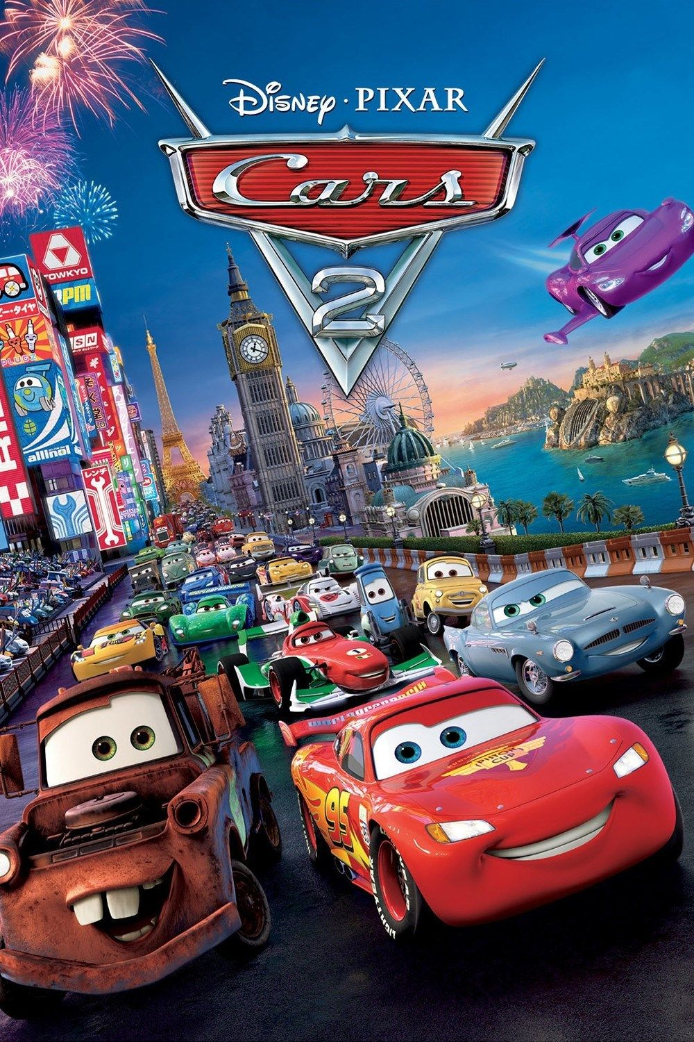 Movie Review Cars 2 With Images Cars 2 Movie Disney Cars