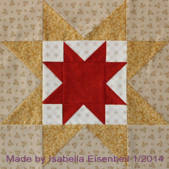 North Star quilt block #2. Made by Isabella Eisenbeil. | Quilt ... : north star quilt block - Adamdwight.com