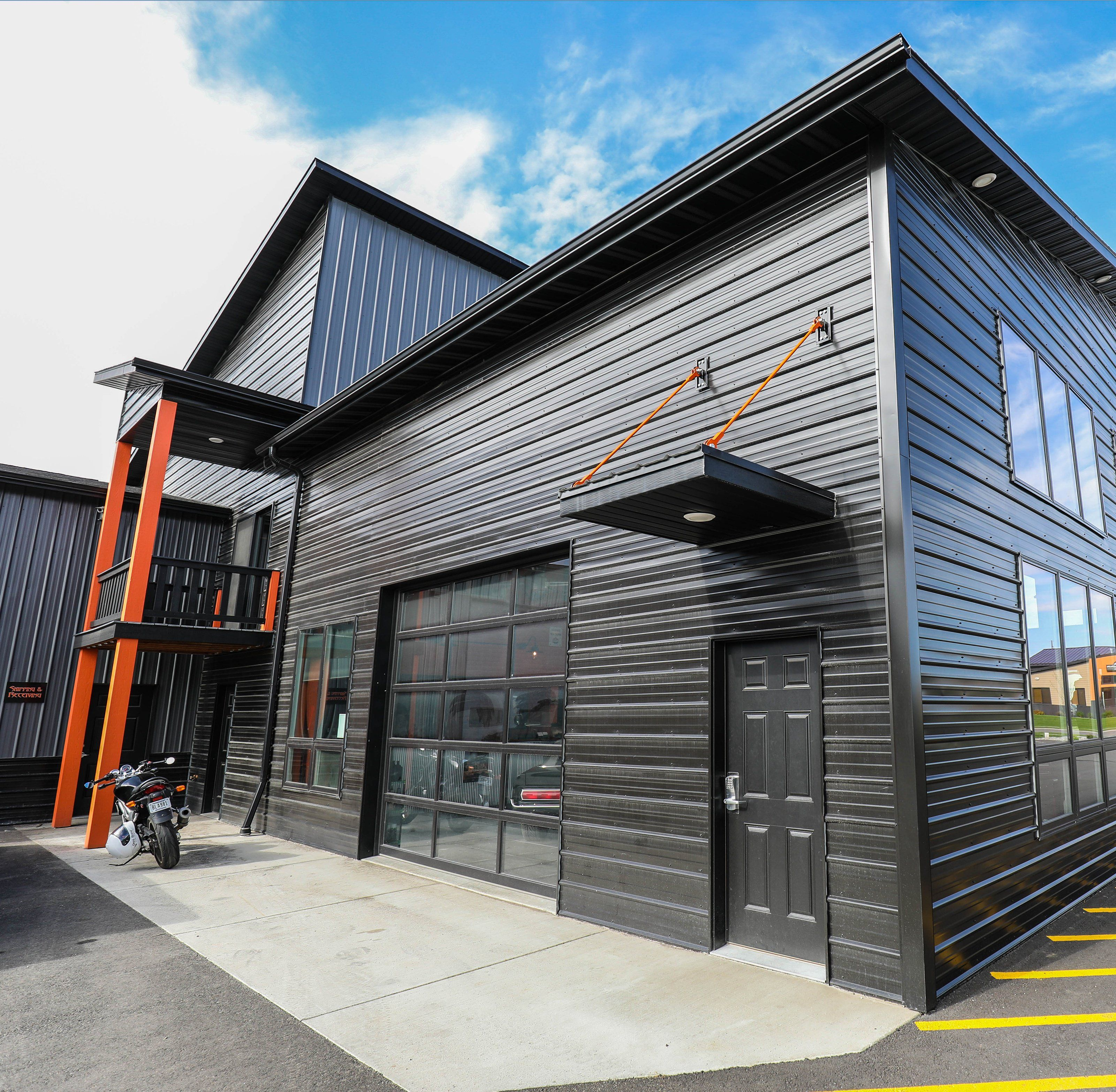 Metal Building Examples Residential Commercial Metal Building Designs Building Design Metal Buildings