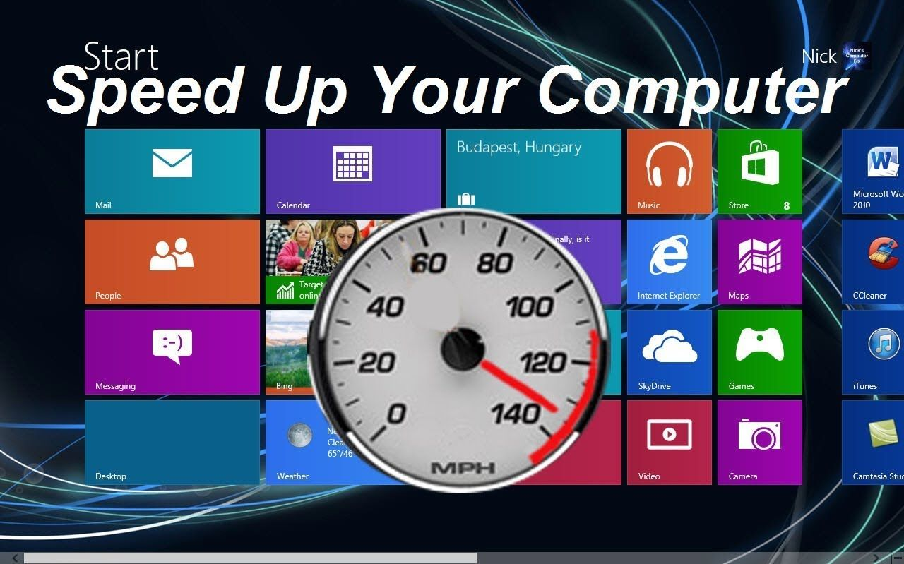 how to speed up my pc windows 7