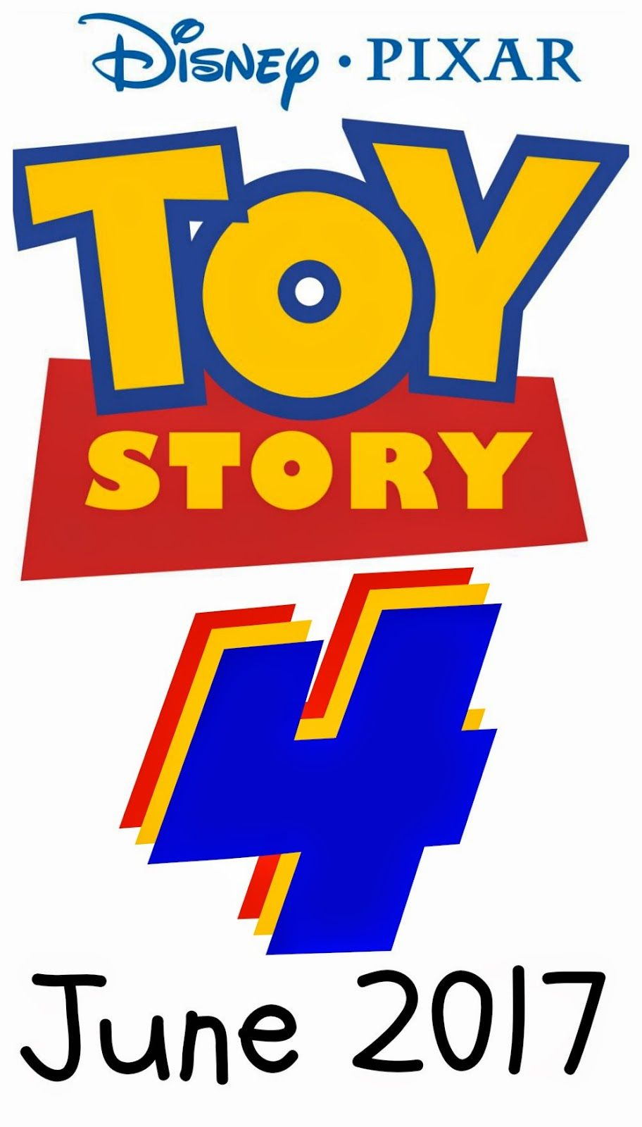 EPIC PIXAR ANNOUNCEMENT: Toy Story 4 Announced by Disney Pixar for ... for Disney Pixar Toy Story Logo  83fiz