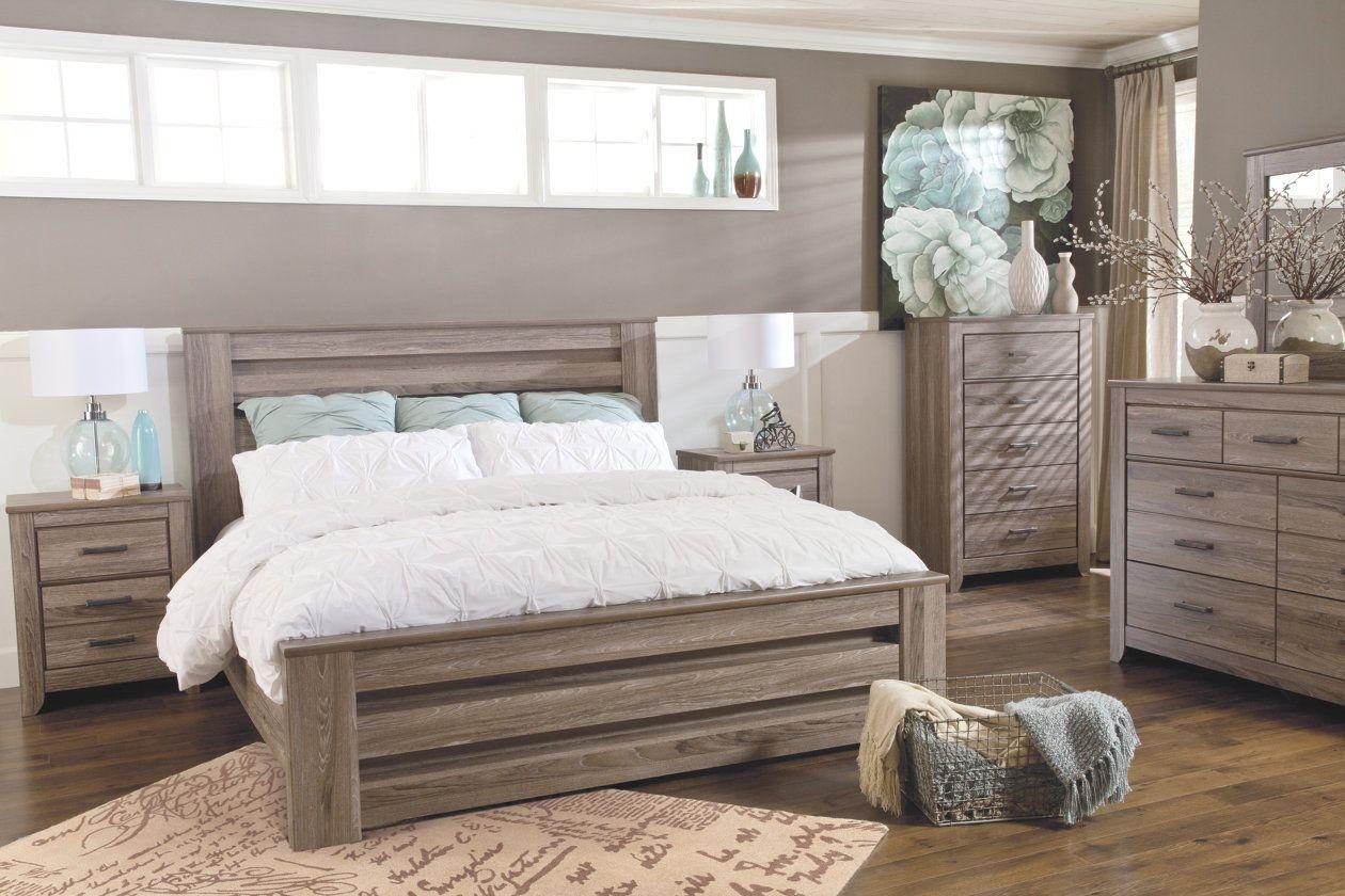 Zelen 6 Piece Queen Bedroom Ashley Furniture Homestore King Bedroom Sets Bedroom Sets Wood Bedroom Furniture