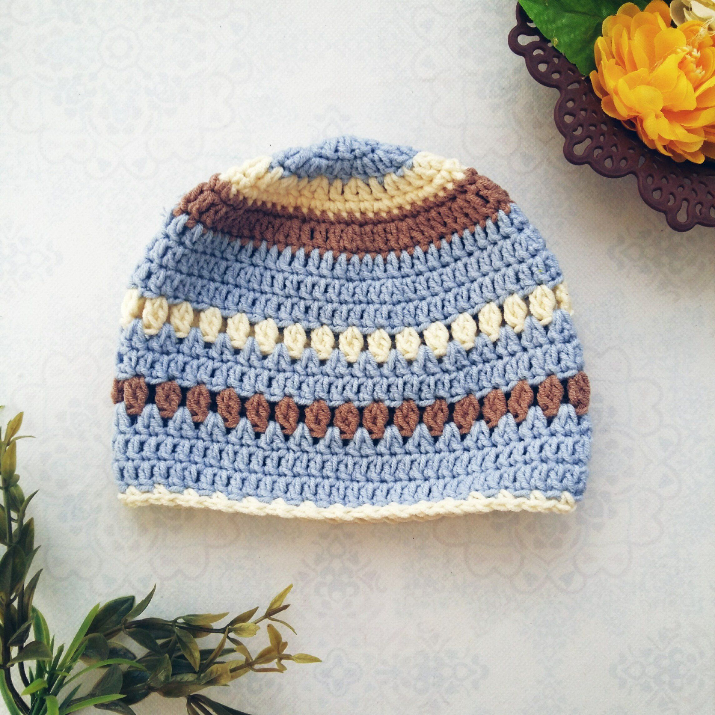 The Creamy Crochet Baby Beanie | Crochet Pattern