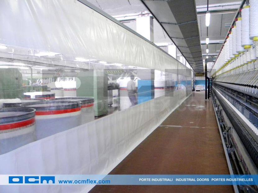 Pvc Partition Walls May Be Installed In The Textile Industry To
