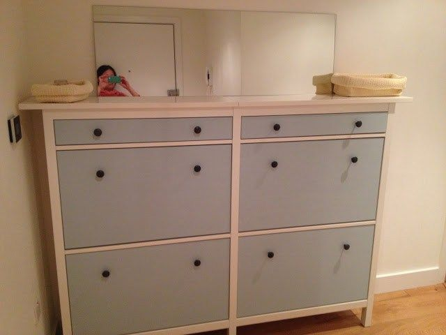 Materials: IKEA Hemnes Shoe Cabinet Description: Greatly Inspired By The  Twined Hemnes Shoe Cabinet Hack Conducted By Paulo From Canada And ScrapHau2026