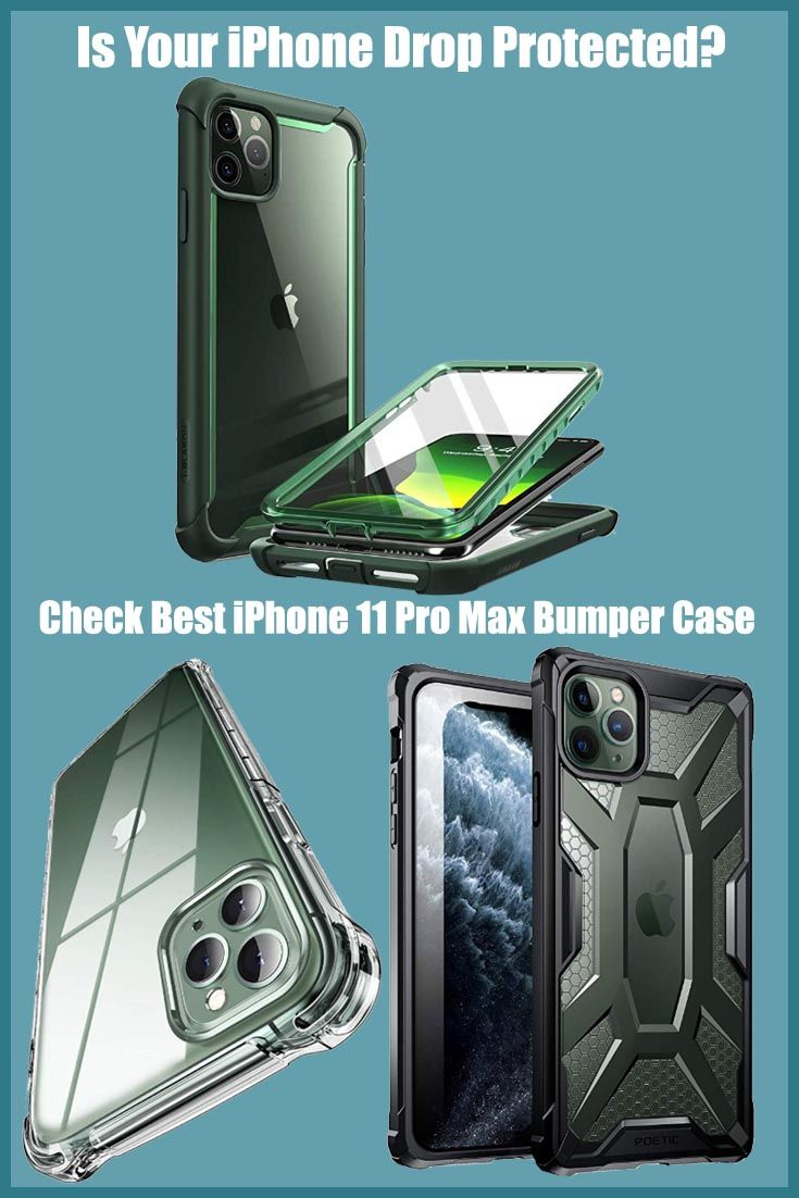 iphone 11 pro max clear bumper case