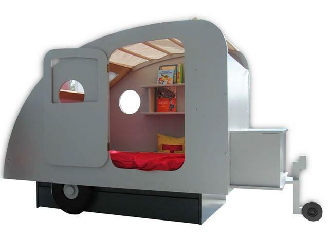 Lits créatifs pour la chambre des enfants Enclosed bed
