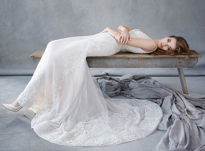 Lazaro Bridal Dresses Style 3605 by JLM Couture, Inc. available at Chic Parisien, a bridal boutique based in Coral Gables FL.